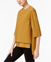 DKNY Cotton High-Low Top