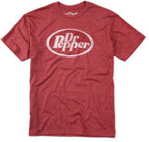 JCPenney Novelty T-Shirts Dr. Pepper Oval Logo Graphic Tee