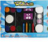 Pinkleaf Washable Party Face Paint kit for kids with Push-up Crayons and Stencils.