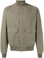 Aspesi button front bomber jacket - men - Cotton - XXL