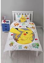 Pokemon Catch Bedding Set - Single