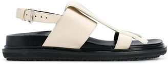 Marni flat buckled sandals