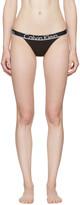 Calvin Klein Underwear Black Tanga Briefs