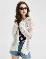 American Eagle AE Crochet Mesh Cardigan