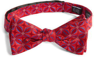Nordstrom Pavel Geometric Silk Bow Tie