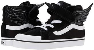 Vans Kids Flying SK8-Hi Reissue 138 V (Infant/Toddler) (Black/True White) Girl's Shoes