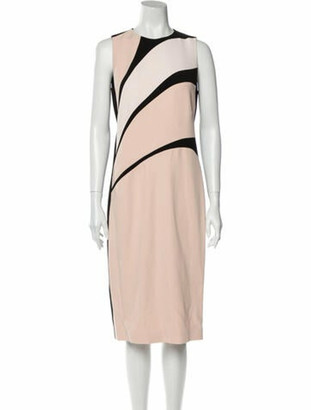 Narciso Rodriguez 2016 Midi Length Dress w/ Tags Pink
