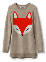 Classic Little Girls Intarsia Sweater Legging Top-Fox