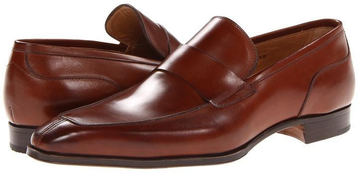 Gravati Split Toe Penny (Natural Brandy) - Footwear