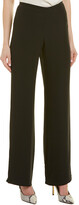 Armani Collezioni Silk-Blend Pant