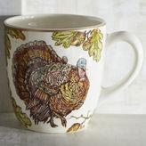 Pier 1 Imports Autumn Oak Turkey Mug