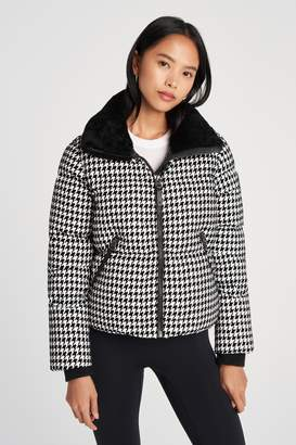 Mackage Excl Houndstooth Shearling Jkt