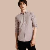 Burberry Polka-dot Cotton Shirt
