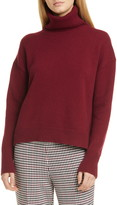 BOSS Fernadine Wool & Cashmere Turtleneck Sweater