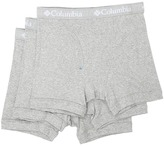 Columbia 100% Cotton Boxer Briefs 3-Pack
