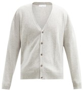 Raey Loose-fit Cashmere Cardigan - Mens - Grey