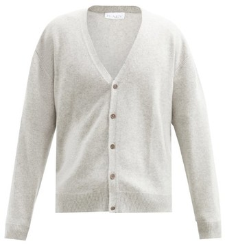 Raey Loose-fit Cashmere Cardigan - Grey