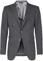 Tom Ford Gingham Check Suit