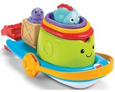 Fisher-Price Stackin 'Tubtime Bath Boat with accessories