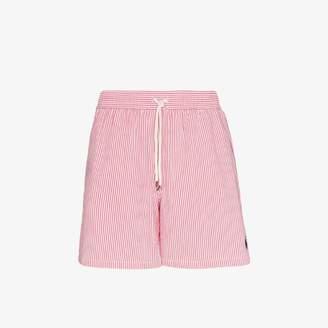 Polo Ralph Lauren striped polo pony swim shorts