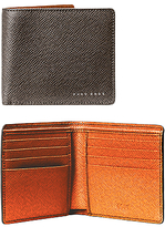 Hugo Boss Boss Signature Textured Leather Wallet