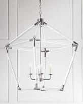 Acrylic 4-Light Lantern