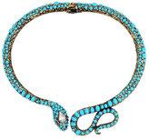 Betsey Johnson Mystic Baroque Snake Collar