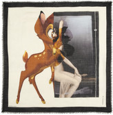 Givenchy Bambi silk and wool-blend scarf