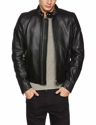 Diesel Men's L-rushis Jacket (Black 900) Small