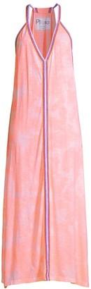 Pitusa Tie-Dyed Midi Dress