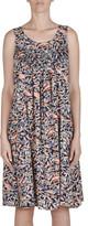Jump Sleeveless Multi Leaf Print Dress