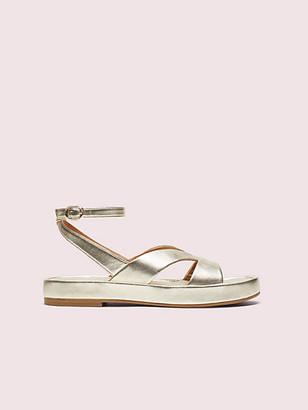 Kate Spade Marshmallow Flatform Sandals