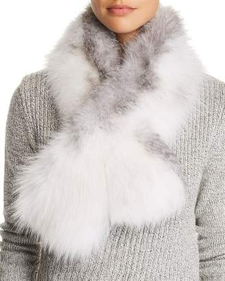 Maximilian Furs Fox Fur Pull-Through Scarf - 100% Exclusive