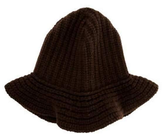 Ralph Lauren Cashmere Knit Hat Brown Cashmere Knit Hat