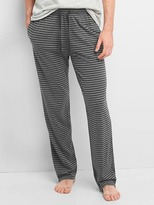 Brushed jersey pants
