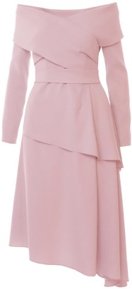 Triangle Powder Pink Dress