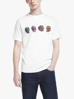 Paul Smith Short Sleeve Bones T-Shirt, White