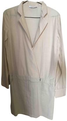 Les Petites Beige Cotton - elasthane Dress for Women