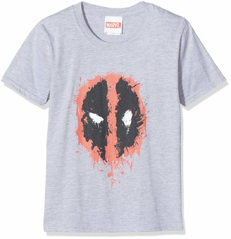 Marvel Girl's Deadpool Splat Face Hoodie