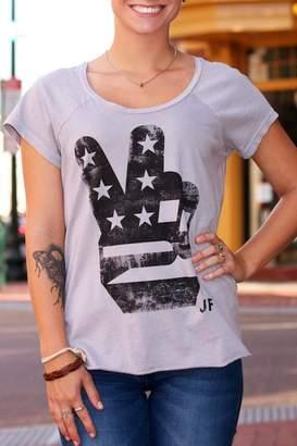 Junk Food Clothing American Peace Tee