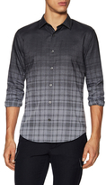Vince Melrose Cotton Ombre Printed Sportshirt