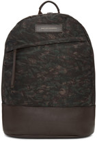 WANT Les Essentiels Brown Camo Kastrup Backpack