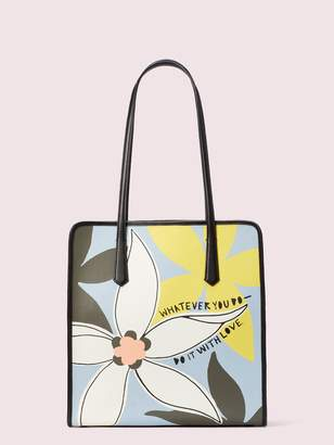 Kate Spade Cleo Wade X Floral Tote