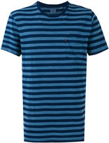 Levi's striped pocket T-shirt - men - Cotton - M