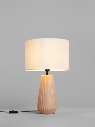 John Lewis & Partners Kite Ceramic Lamp Base, Pink