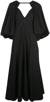 KHAITE oversized sleeve dress