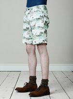 Topman Colonial Safari Print Shorts