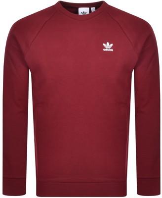 adidas Essential Sweatshirt Burgundy