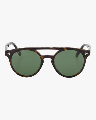 Bally Round Frame Sunglasses