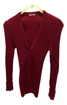 Wolford Burgundy Wool Jackets